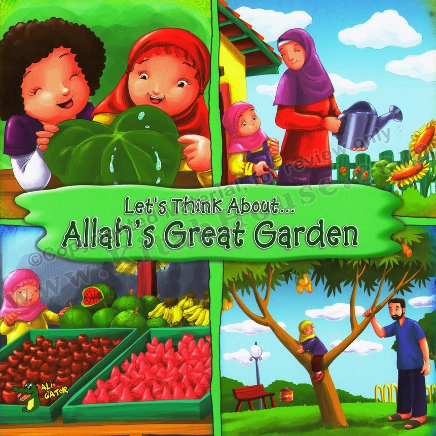 Let's Think About Allah's Great Garden