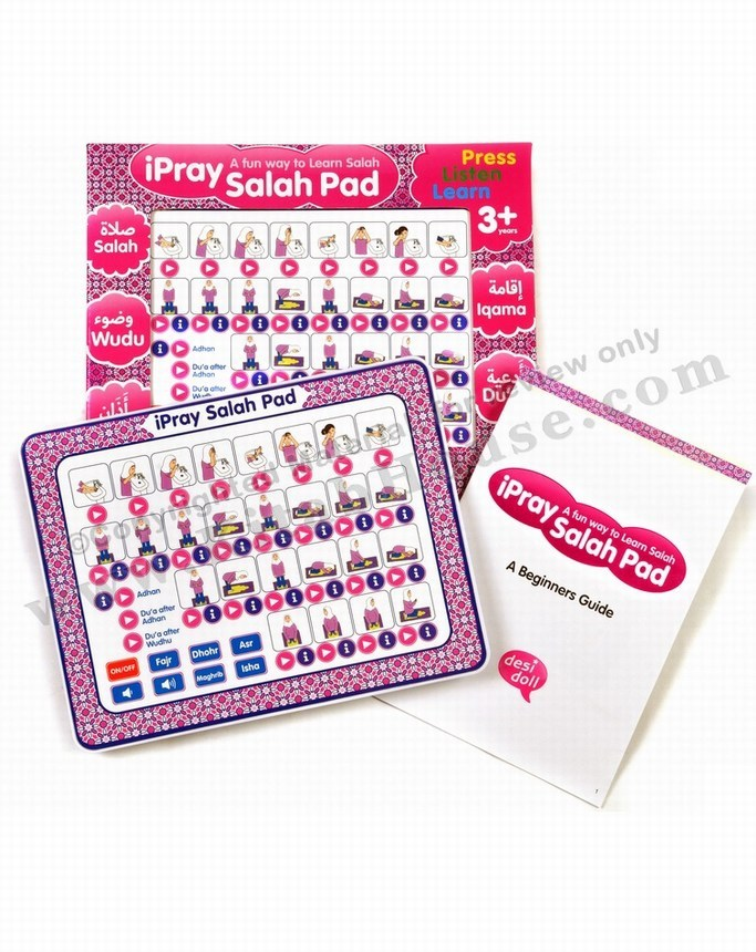 iPray Salah Pad (for Girls)