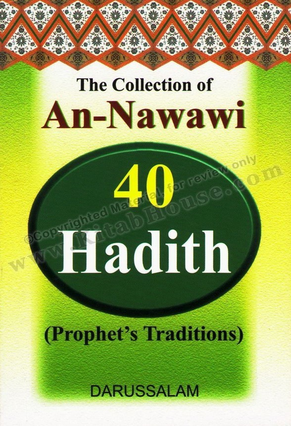 Collection of An-Nawawi Forty Hadith (Pocket Size)