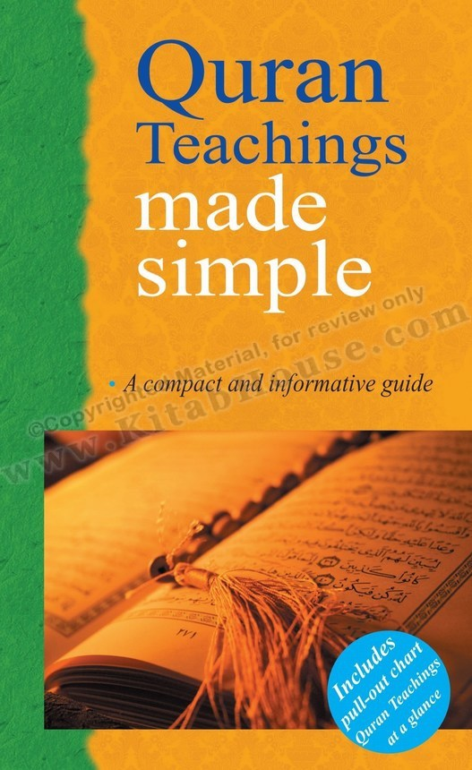 Quran Teachings Made Simple (for Men) (Includes Pull-out Chart)