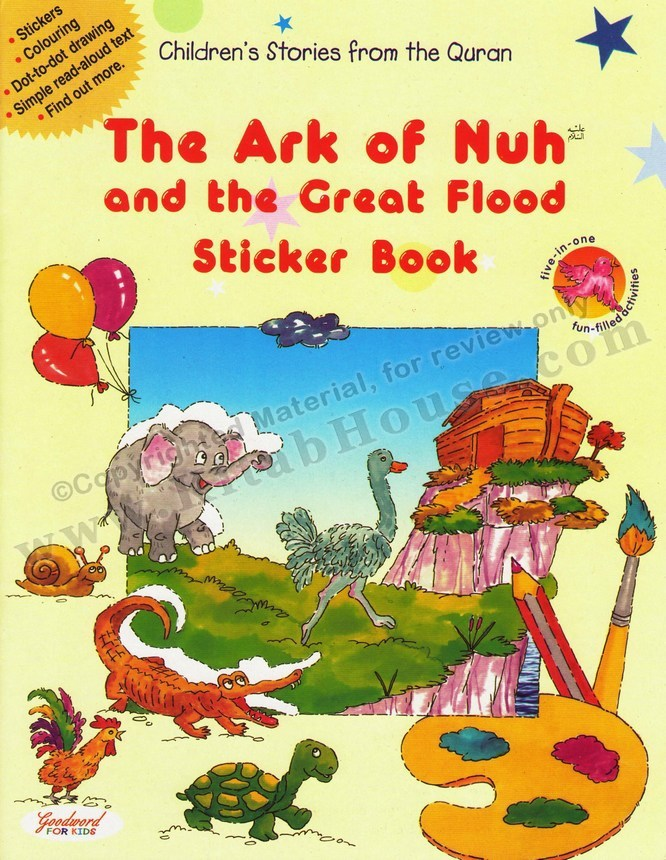 Ark of Nuh and the Great Flood (Sticker Book)