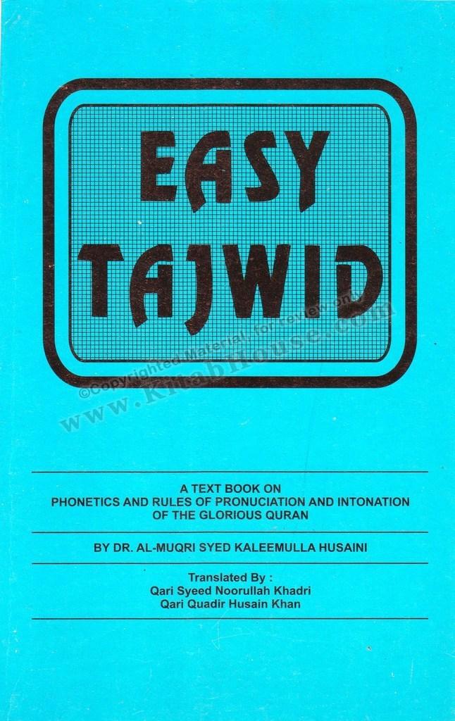Easy Tajweed (Easy Tajwid)