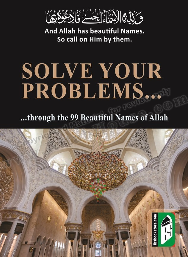 Solve Your Problems Through The 99 Beautiful Names Of Allah Pocket Size