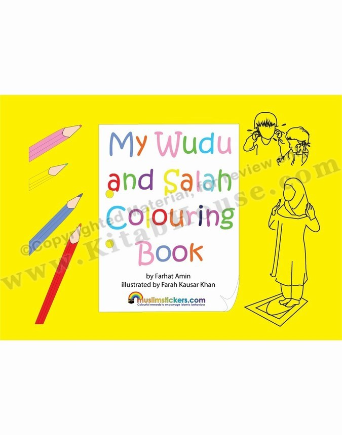 My Wudu and Salah Colouring Book
