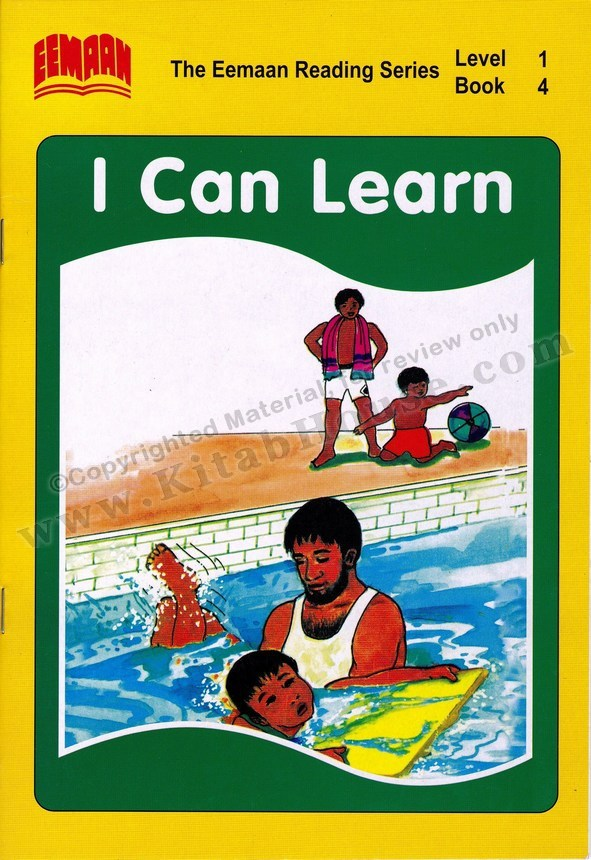 Eemaan Reading Series, Level 1, Book 4 - I Can Learn