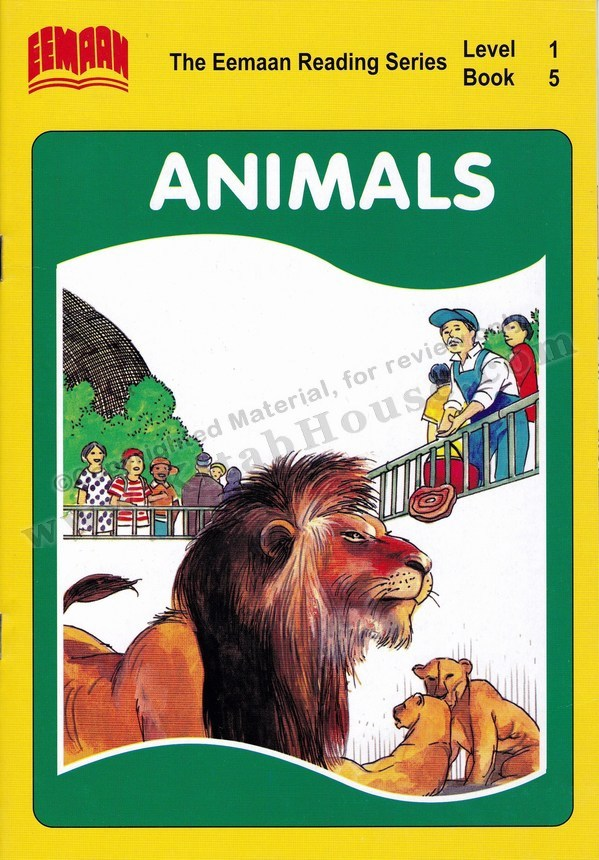 Eemaan Reading Series, Level 1, Book 5 - Animals