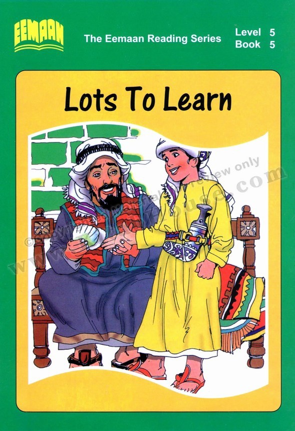 Eemaan Reading Series, Level 5 Book 5 - Lots to Learn