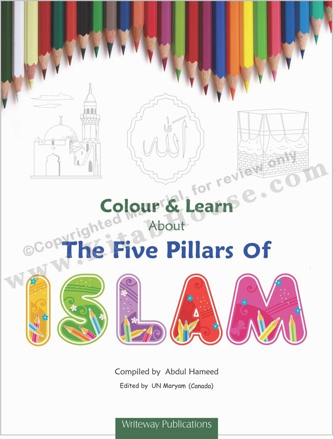 Colour & Learn About Five Pillars of Islam